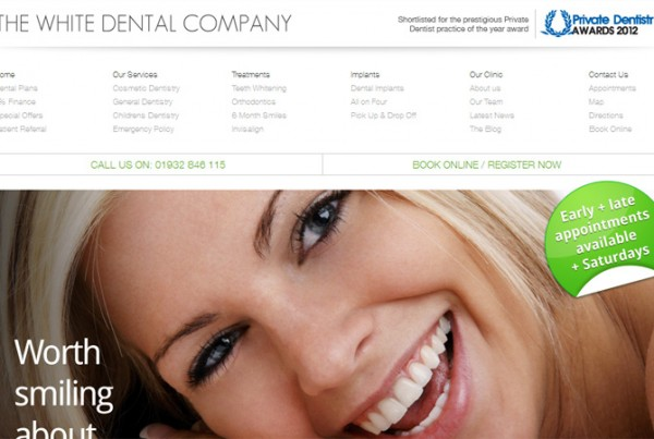 the white dental company