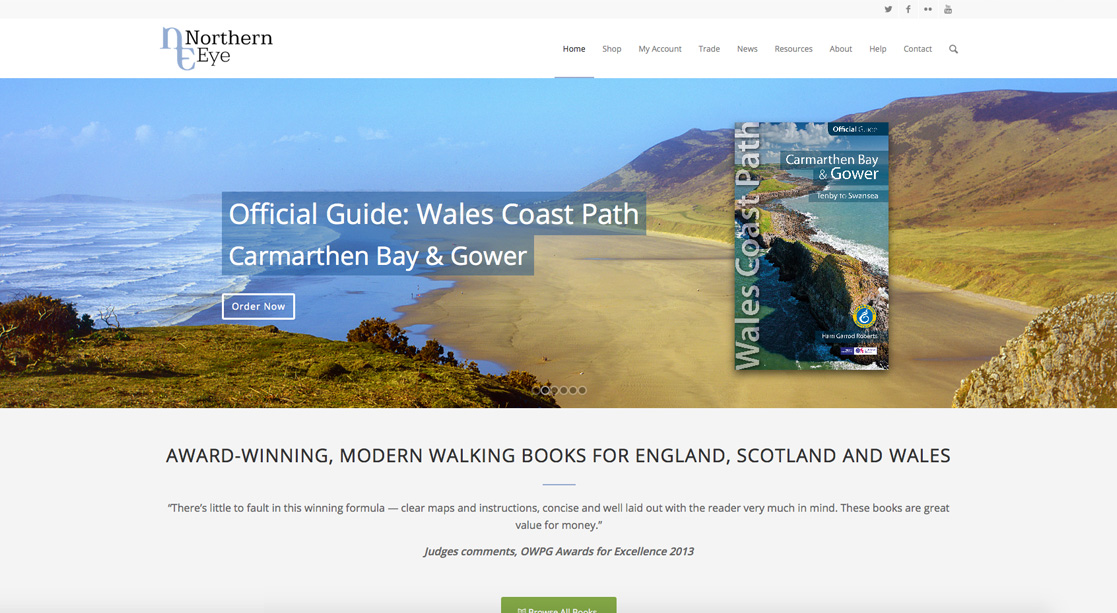 Northern Eye Books Website