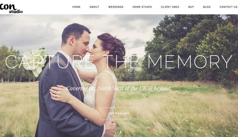 Icon Studio WordPress website